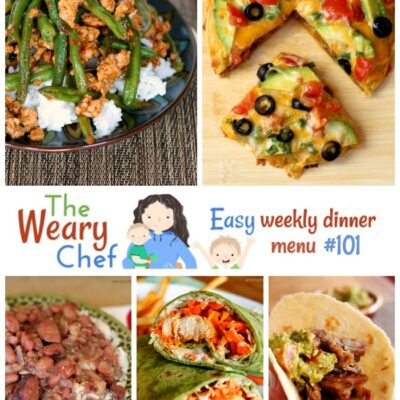 Easy Weekly Dinner Menu #101: Your Favorite Recipes from 2014!