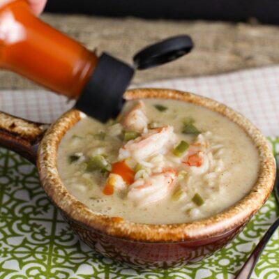 Creamy Cajun Shrimp Soup