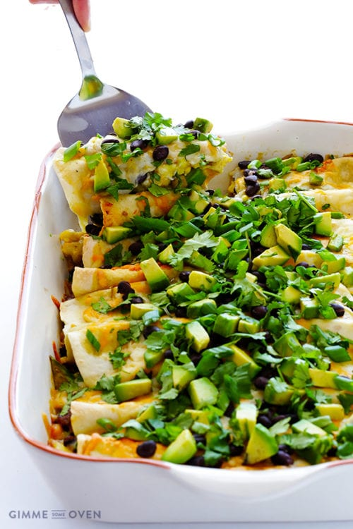 Breakfast Enchiladas by Gimme Some Oven
