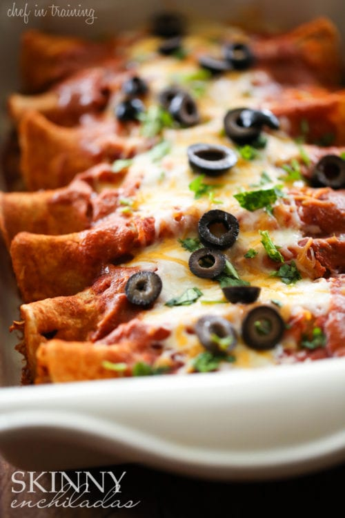Skinny Enchiladas by Chef in Training