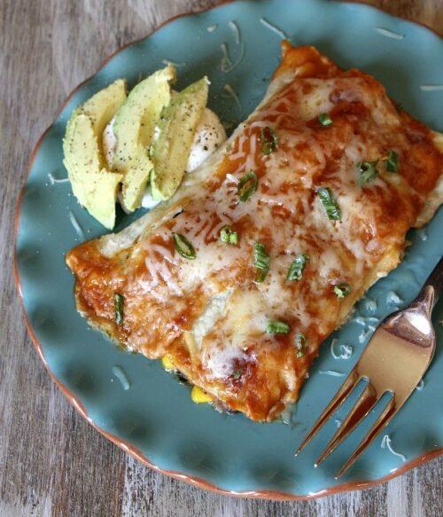 Vegetable Enchiladas by Recipe Girl