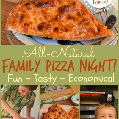 Family Pizza Night with 10 Pizza Topping Ideas!