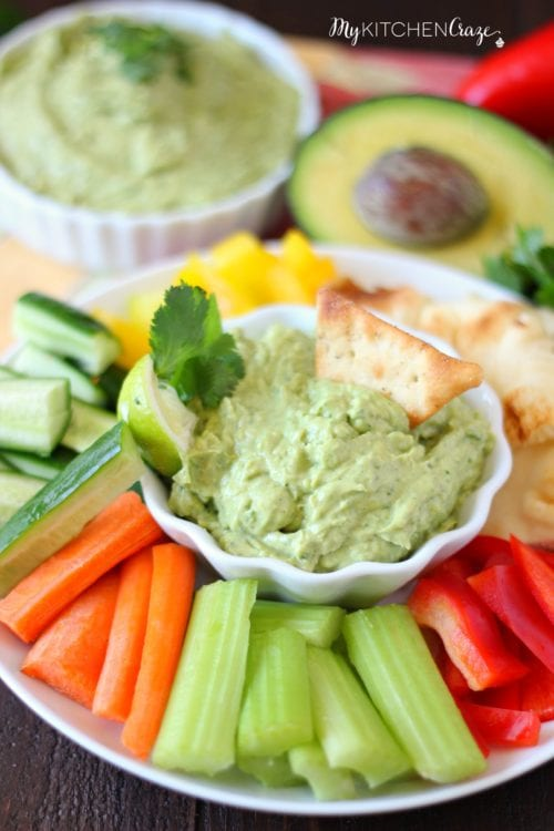 Avocado Yogurt Dip by My Kitchen Craze