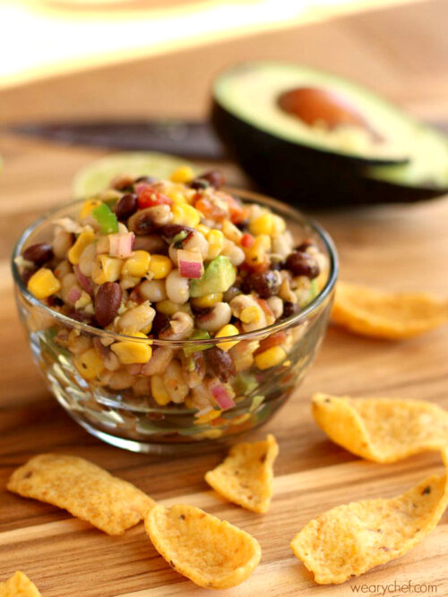 Black Eyed Pea Dip or Salsa - I'm adding some California flavor to Mississippi Caviar, a classic Southern appetizer!