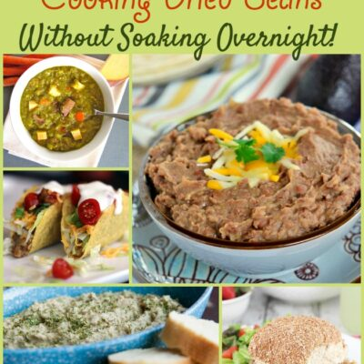 Recipe Ideas for Cooking Dried Beans Without Soaking Overnight