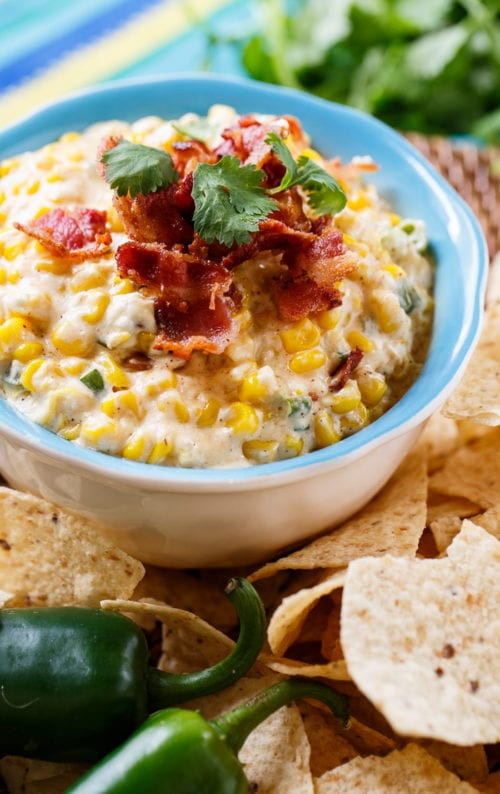 Slow Cooker Corn Dip by Spicy Southern Kitchen