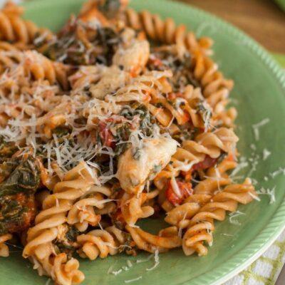 Easy Chicken with Pasta Dinner Recipe