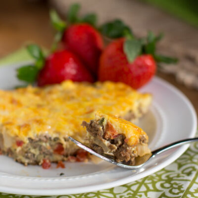 Southwest Sausage Frittata