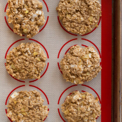Tropical Oatmeal Breakfast Cookies