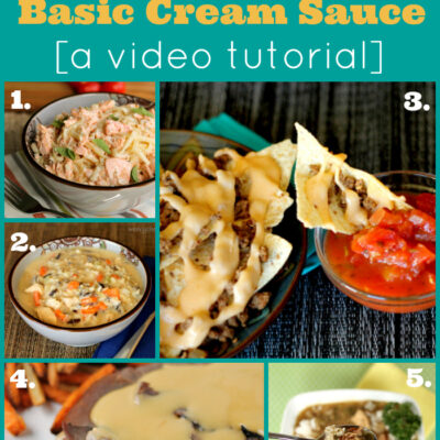 How to Make a Cream Sauce or Gravy: A Video Tutorial