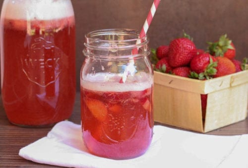 10 Sangria Recipes: Strawberry Sangria by Spoonful of Flavor