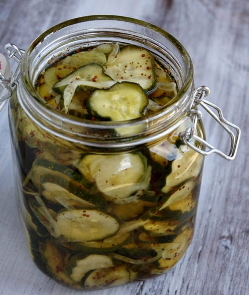 Bread and Butter Pickles by Recipe Girl