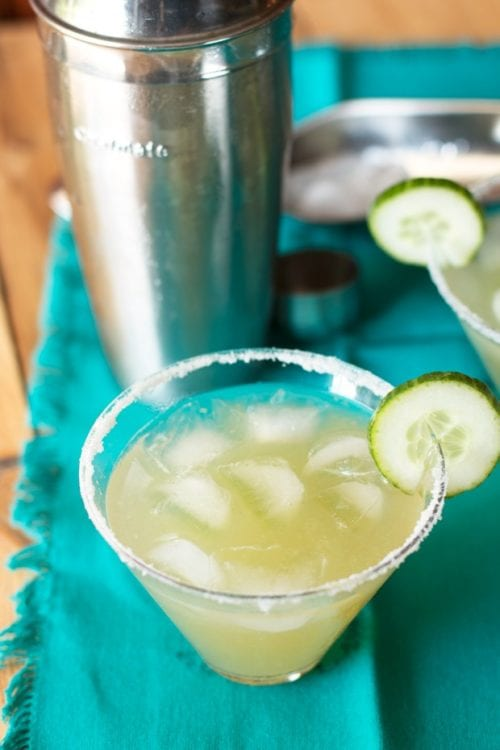 Cucumber Margarita by Cake and Knife