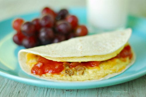 Microwave Breakfast Tacos by The Gunny Sack