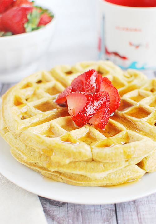 Coconut Flour Waffles by Fake Ginger