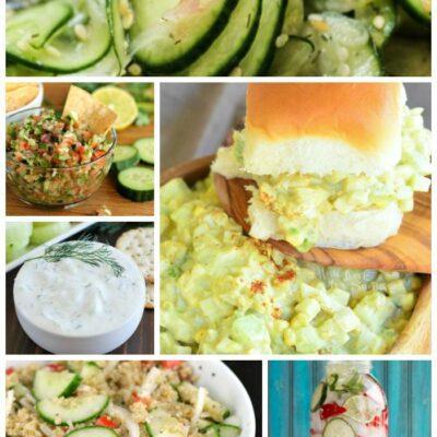 10 Cucumber Recipes