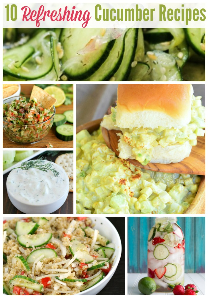 10 Refreshing Cucumber Recipes for Summer