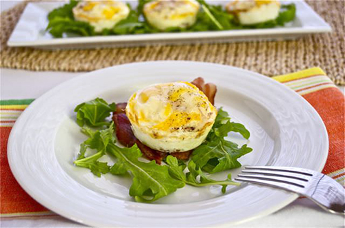 Egg and Bacon Breakfast Cups by Flavor the Moments