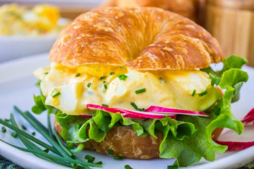 Classic Egg Salad Sandwich by The Food Charlatan