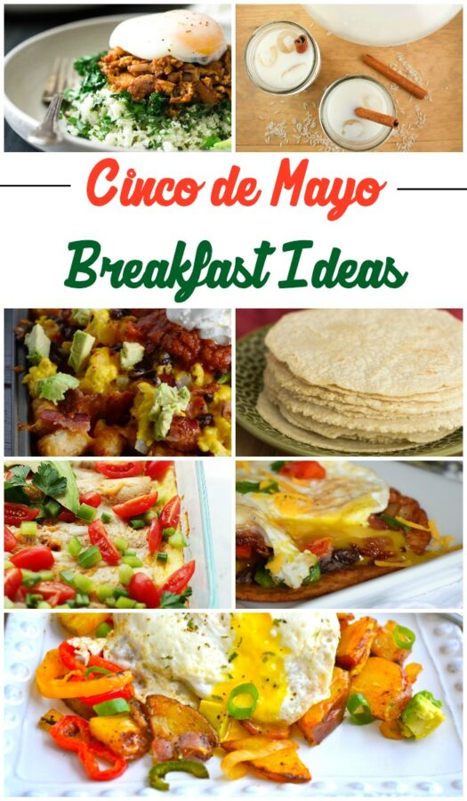 7 Cinco de Mayo breakfast ideas!  You have got to check out some of these great recipe ideas!  YUM!