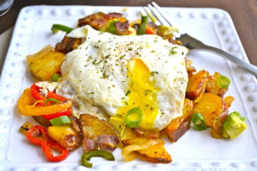 Mexican Breakfast Hash by Maebells (featured on The Weary Chef)