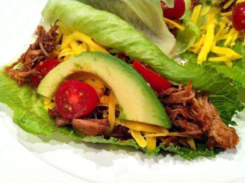 Pulled Pork Lettuce Wraps by Recipe Girl