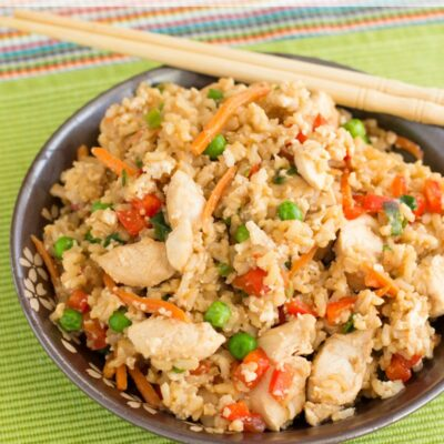 Protein-Loaded Chicken Fried Rice Recipe