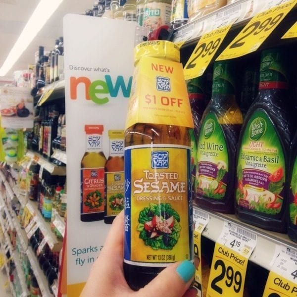 Soy Vay sesame dressing - One of the new items at Safeway stores!