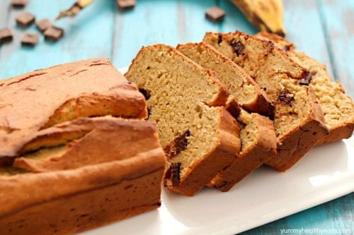 Secret Ingredient Healthy Banana Bread by Yummy Healthy Easy