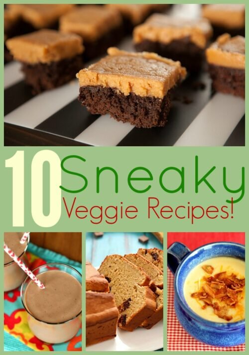 Only the cook will know the secret of these Sneaky Vegetable Recipes!