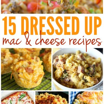 15 Dressed Up Macaroni and Cheese Recipes