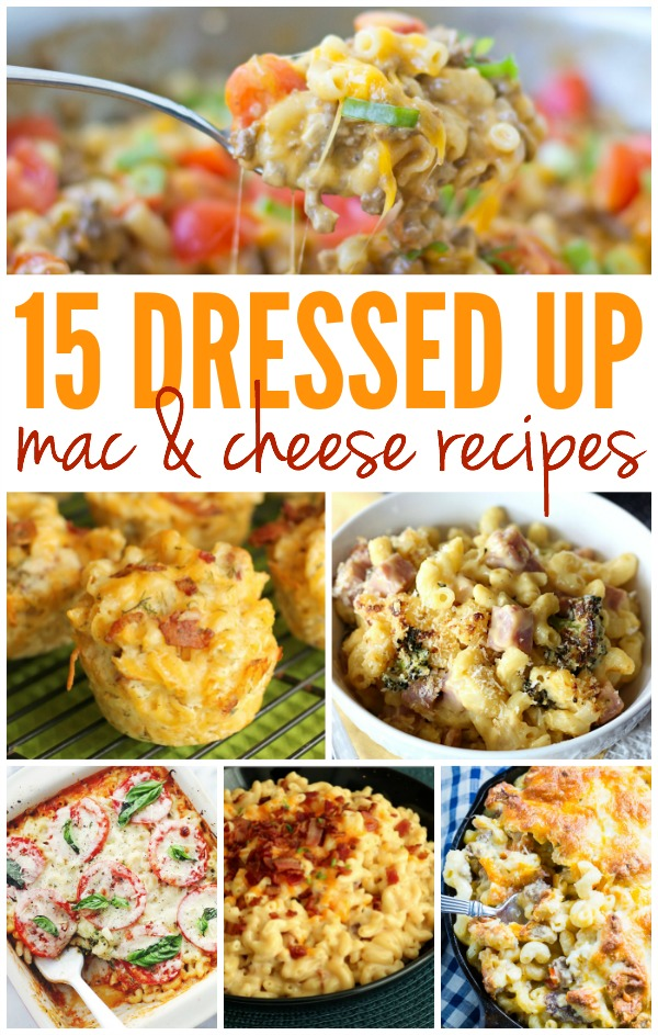 Satisfy your craving for comfort food with these dressed up macaroni and cheese recipes!