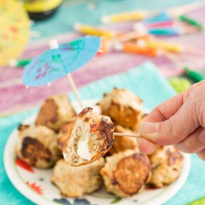 Cheese Stuffed Meatballs