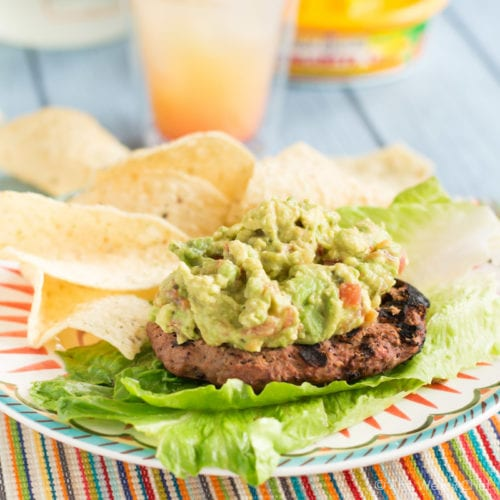 mexican black bean and beef burgers-4