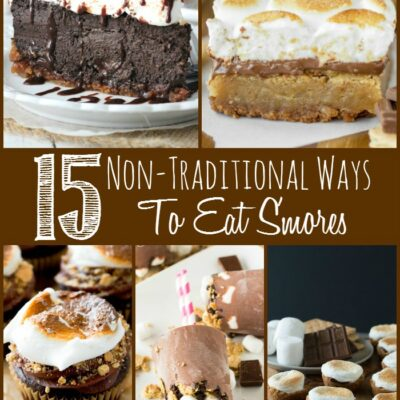 15 Non-Traditional Ways To Eat S'mores