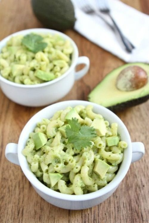 Stovetop Avocado Mac and Cheese by Two Peas & Their Pod (Featured on The Weary Chef)