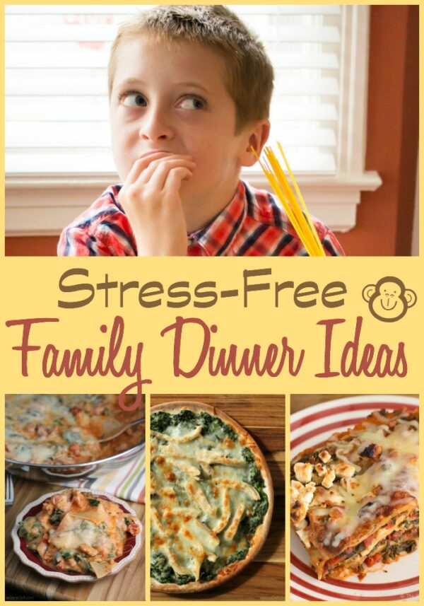 Leave the stress at work and school and actually enjoy dinner with your family with these tips and recipes!
