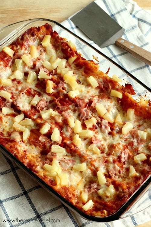 Hawaiian Lasagna On Julie's Eats and Treats