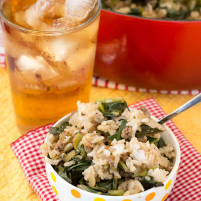 Not Your Mama's Dirty Rice Recipe