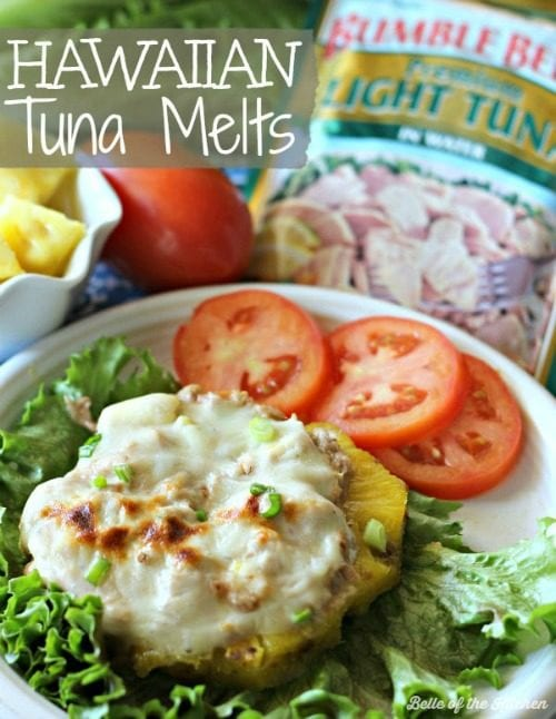 Hawaiian Tuna Melts By Belle of the Kitchen