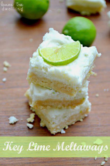 Key Lime Meltaways - Lemon Tree Dwelling