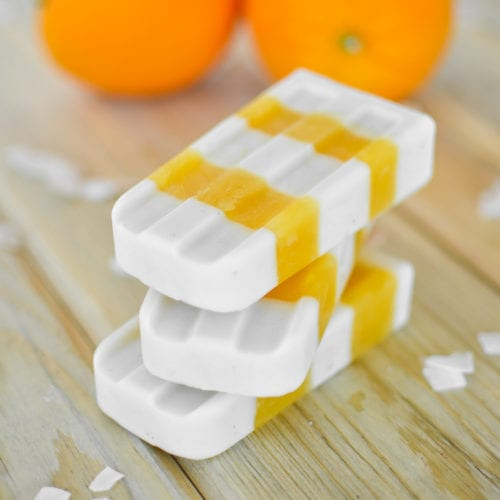 Orange Coconut Creamsicles - Cooking and Beer