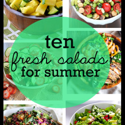 10 Fresh Salad Recipes for Summer