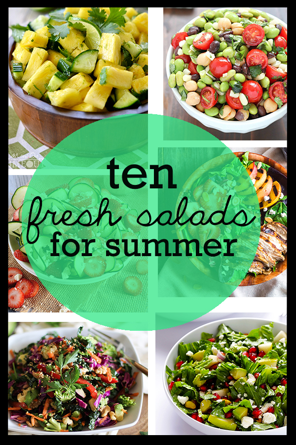 Dive into these colorful and delicious salads for summer!