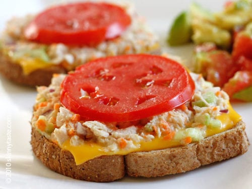 Skinny Tuna Melt by Skinnytaste (Featured on The Weary Chef)
