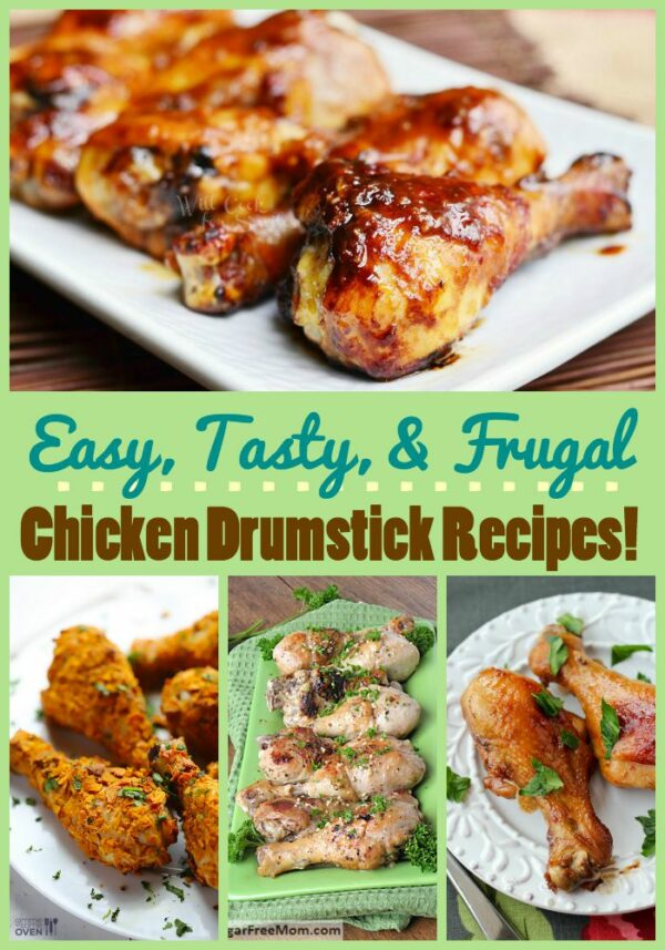 Whether you want sweet, spicy, or crispy, you're sure to find a new favorite in this list of ten chicken drumstick recipes!