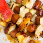 Hawaiian Hot Dog Kebabs