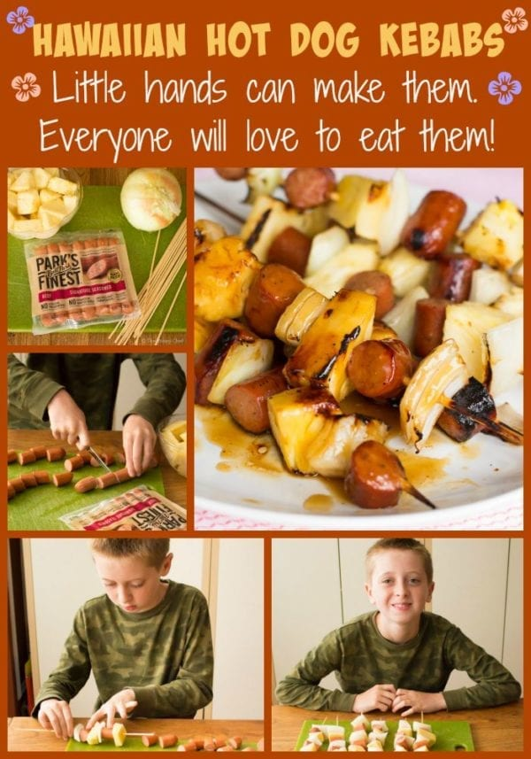 Hawaiian Hot Dog Kebabs are really easy to make, and they taste irresistible!