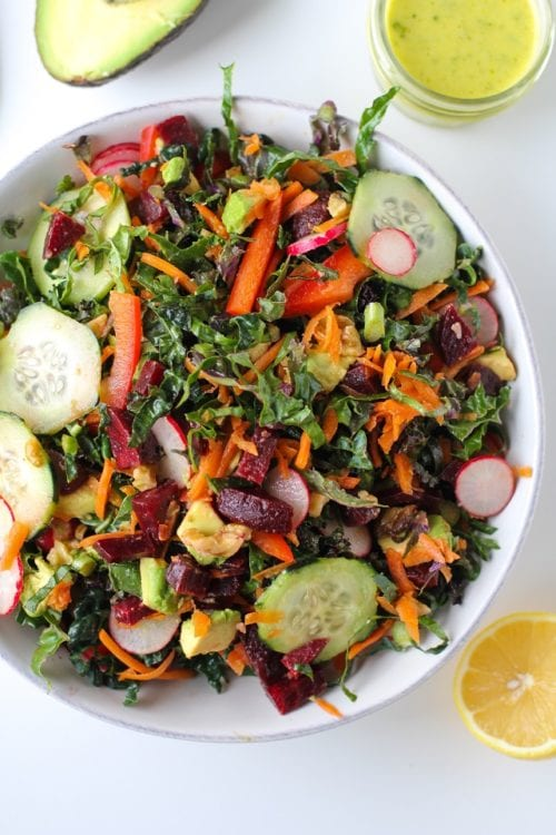 Spring Cleaning Detox Salad by The Roasted Root