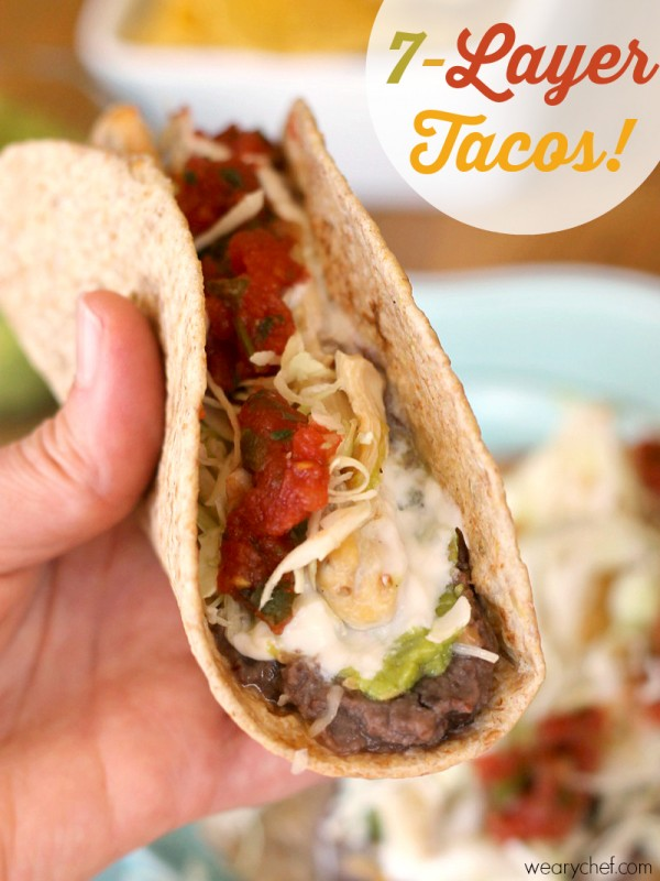 Super quick and easy taco recipe for busy nights!